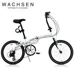 WACHSEN BA-101 WeiB(ヴァイス)【20インチ折りたたみ自転車】