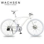WACHSEN BAC-700-WH GLANZ(グランツ)【700C型アルミフレームクロスバイク】