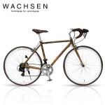 WACHSEN BAR-700-WBR -wood- Jaeger(イエーガー)【700C型アルミフレームロードバイク】