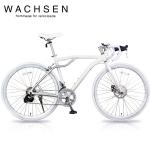 WACHSEN BAR-700-WH Flugel(フリューゲル)【700C型アルミフレームロードバイク】