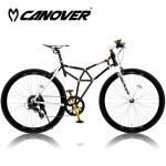 CANOVER CAC-022 TRINTA(トリニタ)【700C型クロモリフレームクロスバイク】