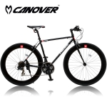 CANOVER CAC-024 HEBE(ヘーベー)【700C型クロモリフレームクロスバイク】