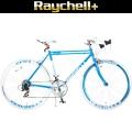 Raychell+ R+717 PEGASUS(ペガサス)【700C型クロモリフレームロードバイク】