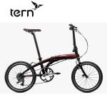 Tern Verge P9 EKO(ヴァージュ P9 EKO)【2017年度継続モデル】【20インチアルミフレーム折りたたみ自転車】