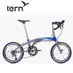 Tern Verge X18(ヴァージュ X18)【2017年度継続モデル】【20インチアルミフレーム折りたたみ自転車】