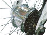 電動アシスト自転車のアシストモーター